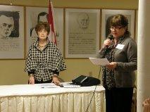 Financial Planning Program, Maggie Irwin, President and Charlotte Carlson, Vice President Programs