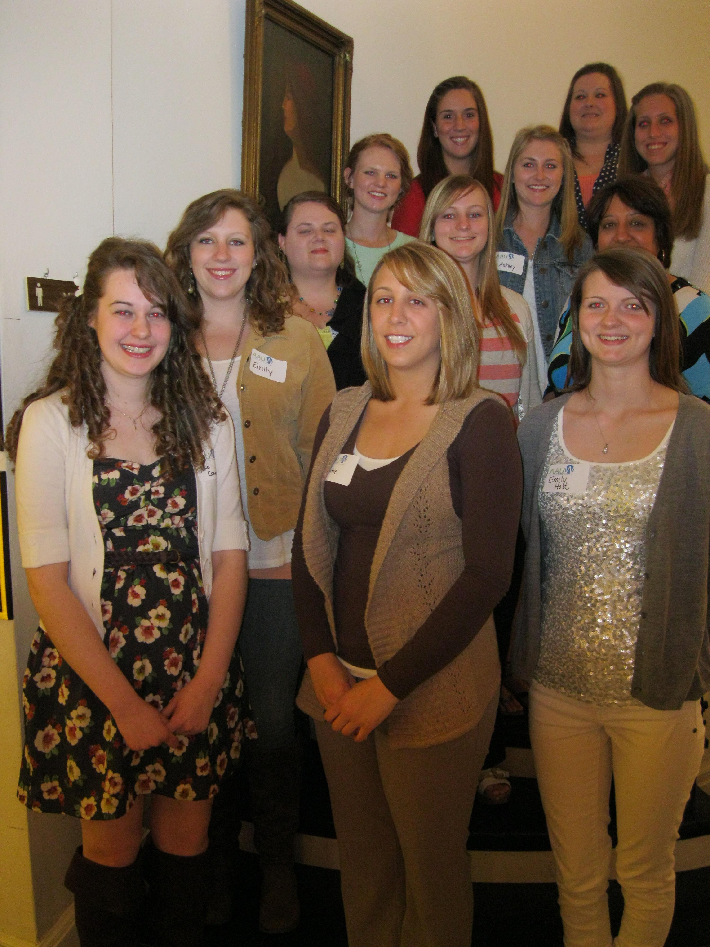 AAUW Scholarship Winners