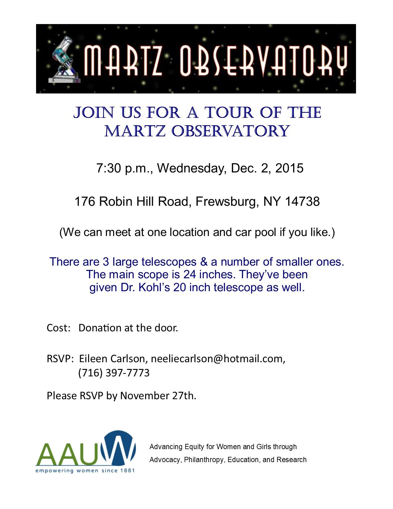 Martz Observatory